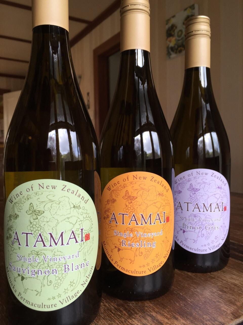 Atamai Wine 2015